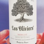 Les Oliviers, Merlot-Mourvedre