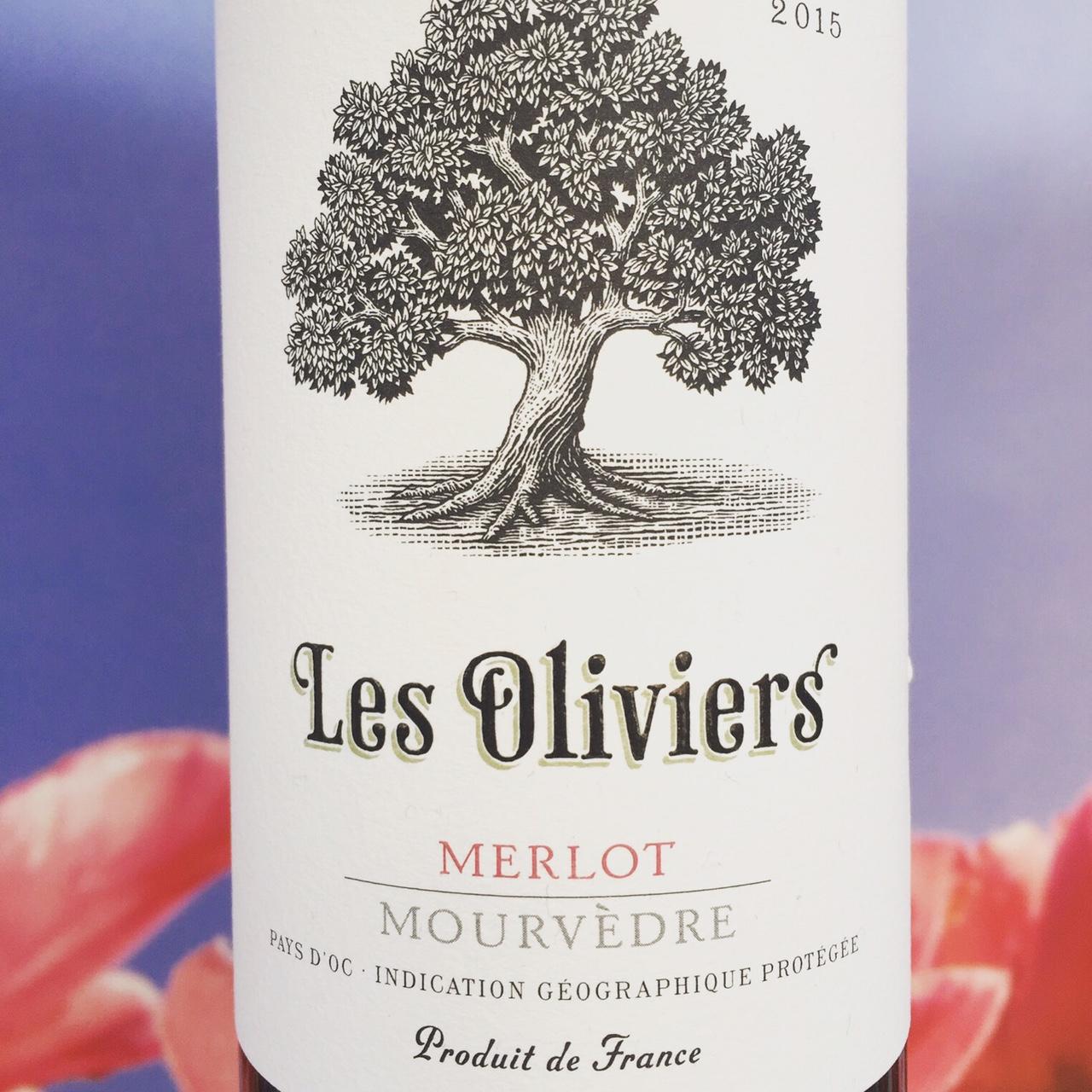 Les Oliviers Merlot wijnreview door Mama Drinkt Wijn, vinoloog sinds 2006
