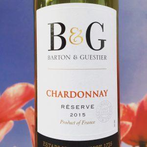 Chardonnay, Barton & Guestier Review