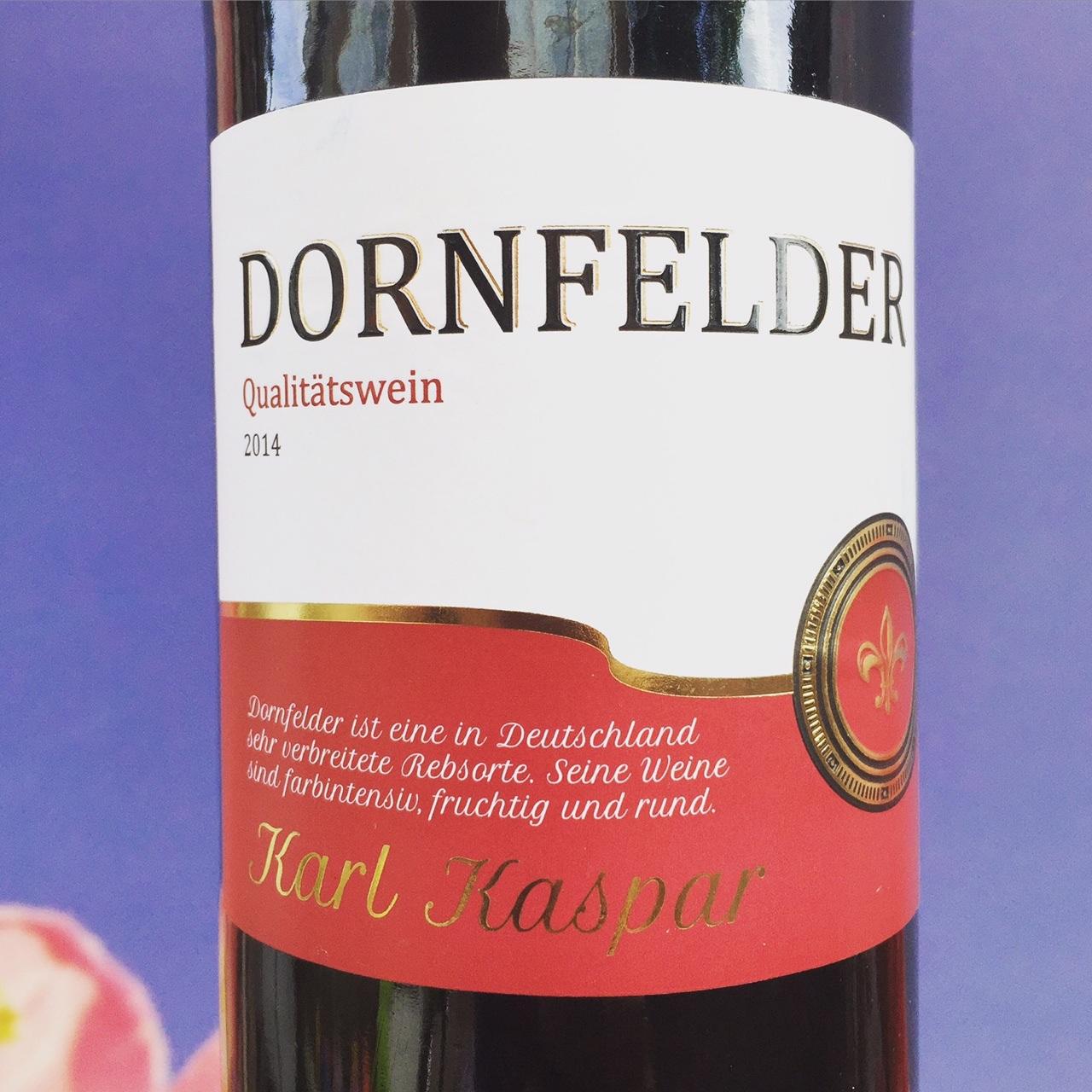 Dornfelder wijnreview door Mama Drinkt Wijn, vinoloog sinds 2006