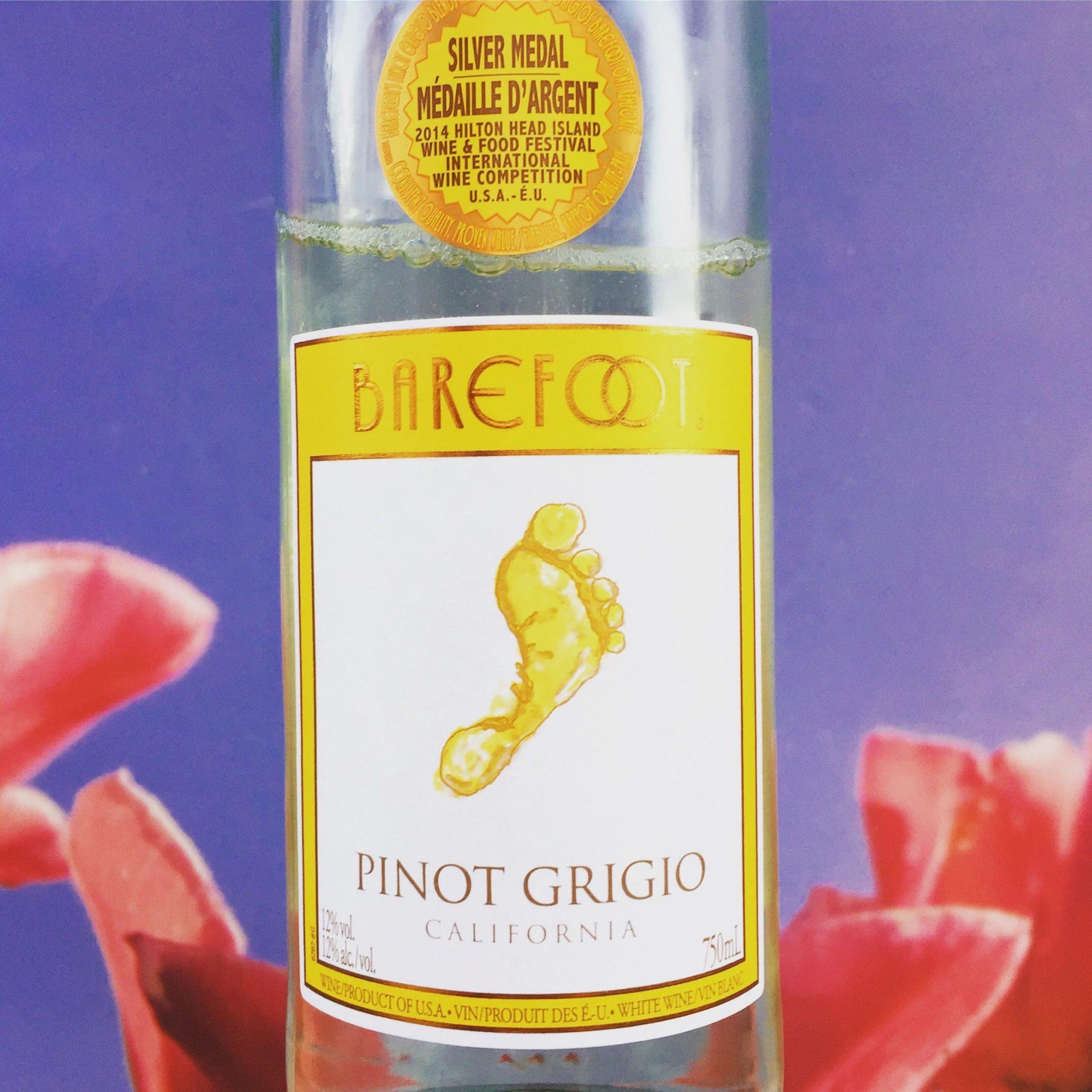 Barefoot Pinot Grigio wijnreview door Mama Drinkt Wijn, vinoloog sinds 2006