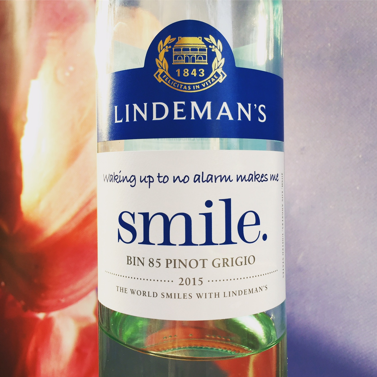 Smile Pinot Grigio, Lindeman's Review