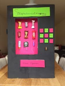 sinterklaas snoepautomaat