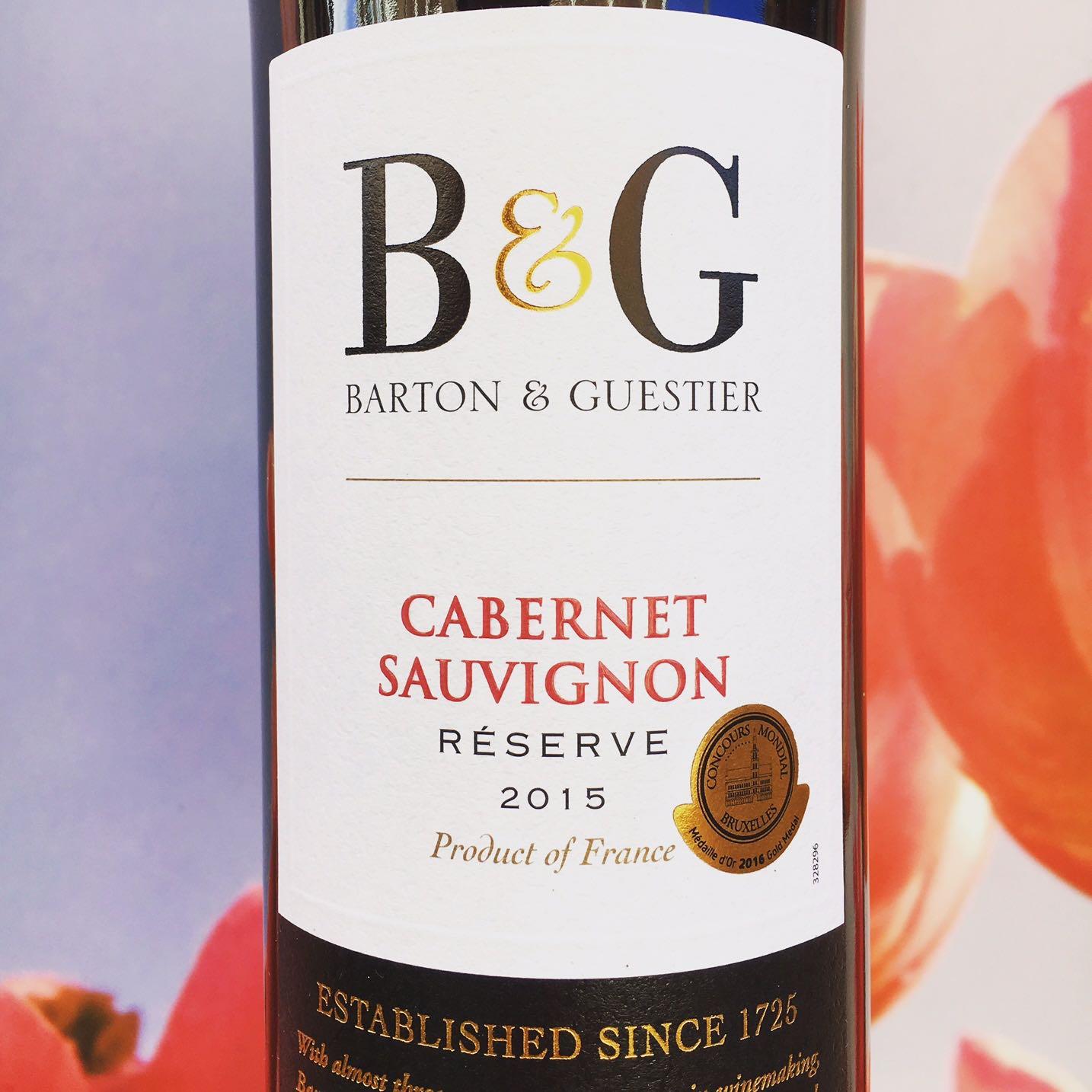 Cabernet Sauvignon, Barton & Guestier Review