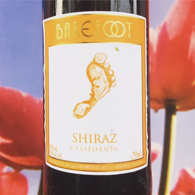 Shiraz Barefoot USA, wijnreview