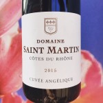 Saint Martin Rhône wijnreview door Mama Drinkt Wijn, vinoloog sinds 2006