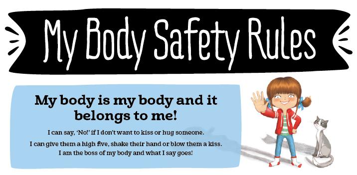 Leer kinderen in 5 stappen hun lichaam te beschermen