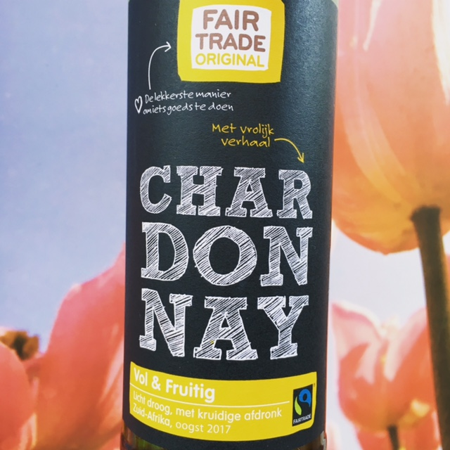 Fairtrade Chardonnay, Zuid Afrika