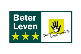 Minder vlees eten - Logo Beter Leven van de Dierenbescherming