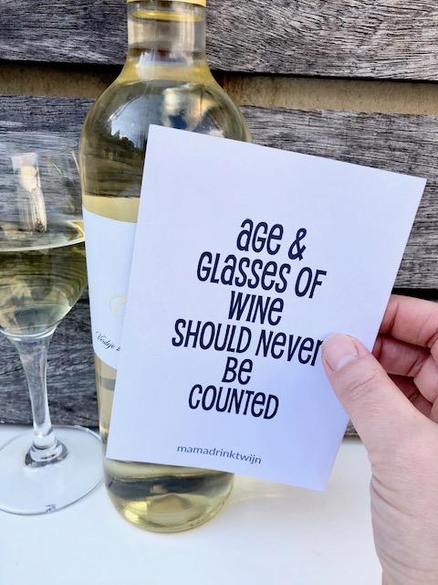 Witte Wijn + Etiket
