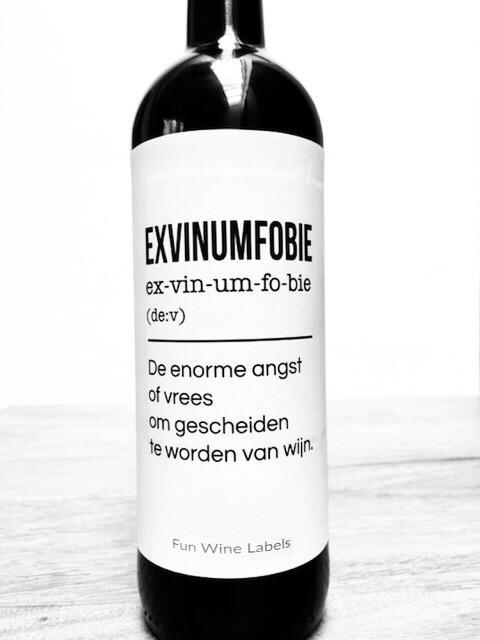 wijnetiket exvinumfobie
