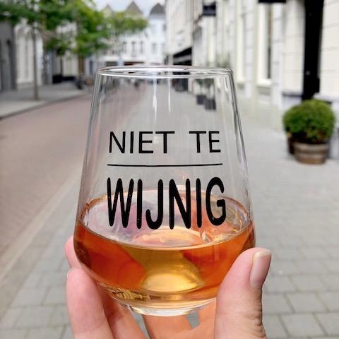 Wijnglas Niet Te Wijnig