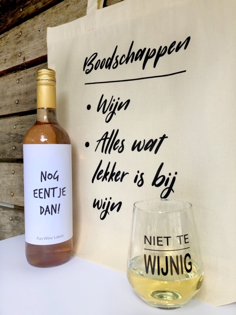 Wijngek pakket - rosé, compleet cadeau voor grote wijnliefhebbers