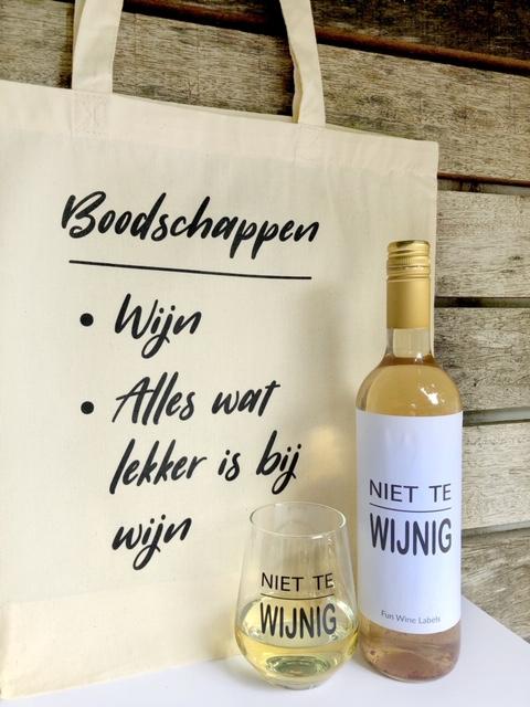 Wijngek Pakket – Wit