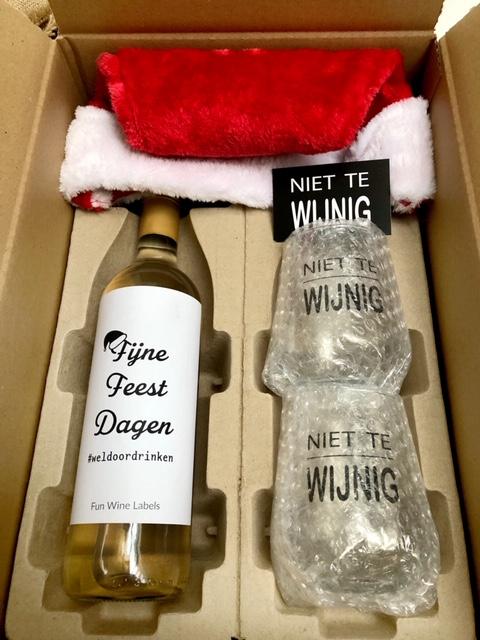 kerstpakket luxe in een verzenddoos